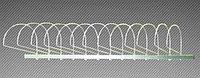 Экспозитор для шапок 10 элементов (L-600 мм) арт. ЭШС10, фото 1