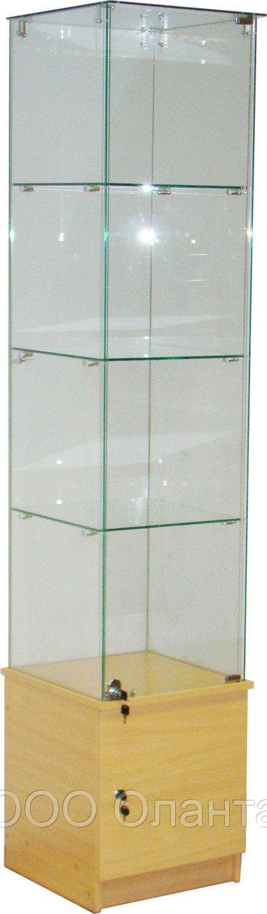Витрина-пенал ПЭД-440/4 (440х450х2060 мм)