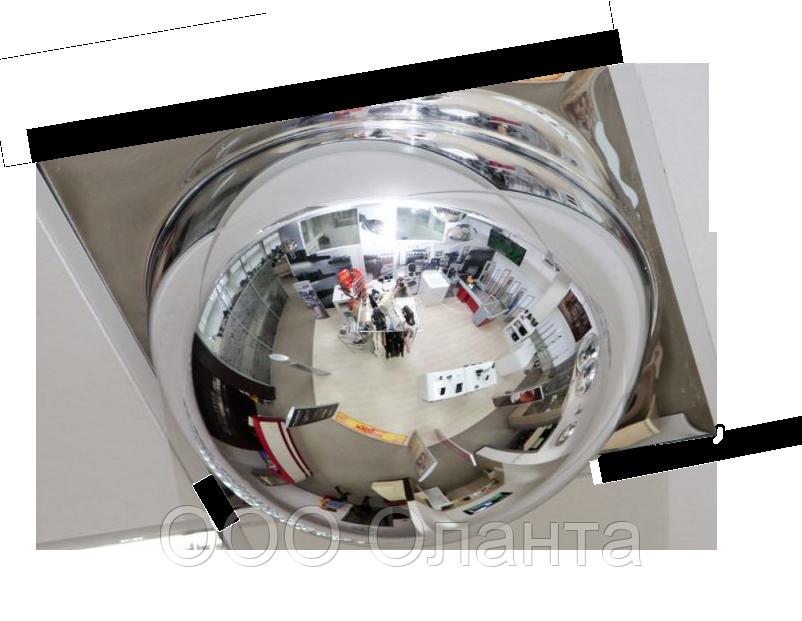 Зеркало обзорное купольное Армстронг (D=600 мм) арт. А600