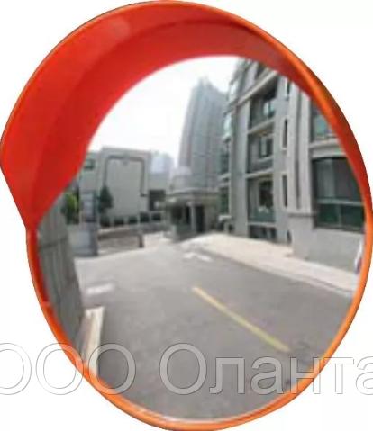 Зеркало обзорное дорожное с козырьком (D=600 мм) арт. Д600