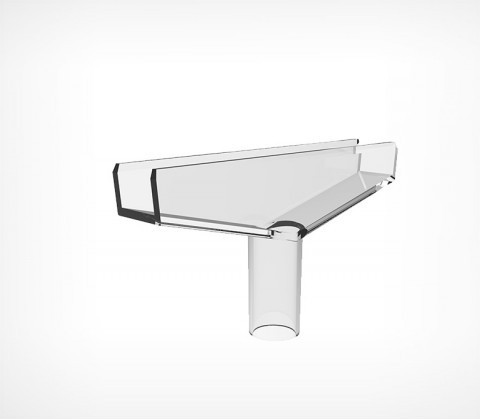 Т-держатель для рамки усиленный (d=10 мм)