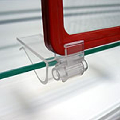 Клипса-держатель пластиковой рамки с регулируемым углом наклона
