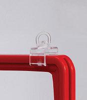 Клипса с поворачивающейся петлей для подвешивания рамок, фото 1