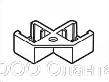 Соединитель двух рамок под углом 90 градусов