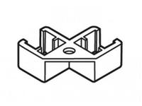 Соединитель двух рамок под углом 90 градусов, фото 1