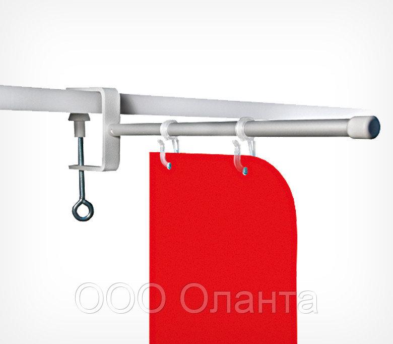 Держатель вывески на струбцине (L=180 мм) CLAMP-TUBE-I-H арт.800002