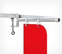 Держатель вывески на струбцине (L=180 мм) CLAMP-TUBE-I-H арт.800002, фото 1