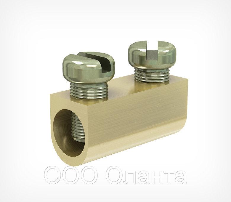 Клипса зажимная алюминиевая для стального троса WIRE FIT арт.200007