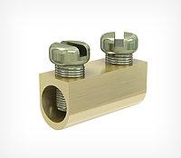 Клипса зажимная алюминиевая для стального троса WIRE FIT арт.200007, фото 1