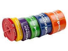 Комплект из 6 резиновых петель BanD4Power (нагрузка 3 - 80 кг), фото 2