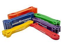 Комплект из 6 резиновых петель BanD4Power (нагрузка 3 - 80 кг), фото 3
