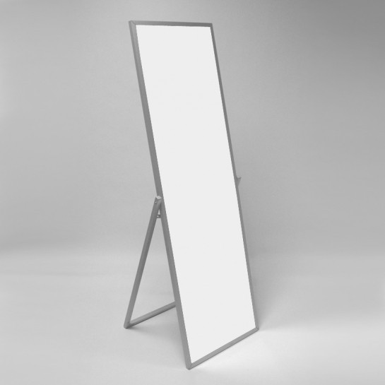Зеркало напольное (440х1490 мм) алюминий арт. ST05