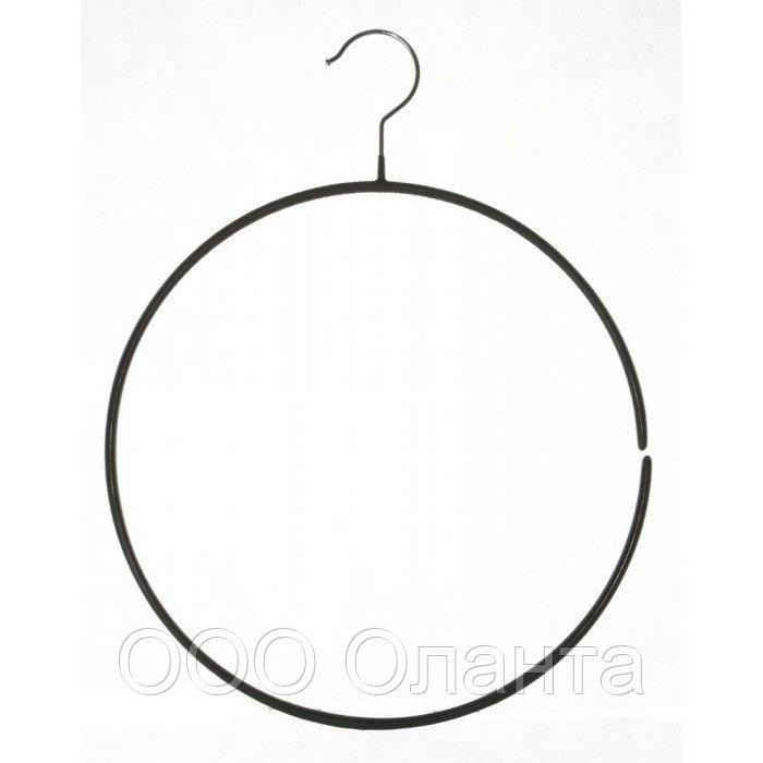 Вешалка-кольцо обрезиненное (D=350 мм) арт. WS061
