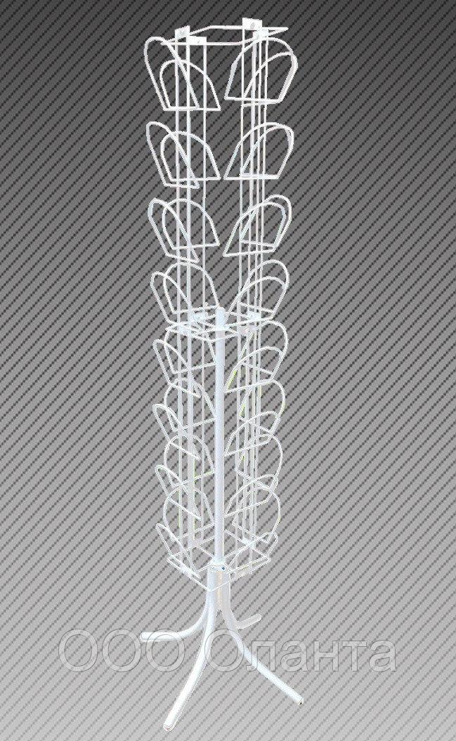 Стойка для шапок напольная 32 элемента арт. СШС2