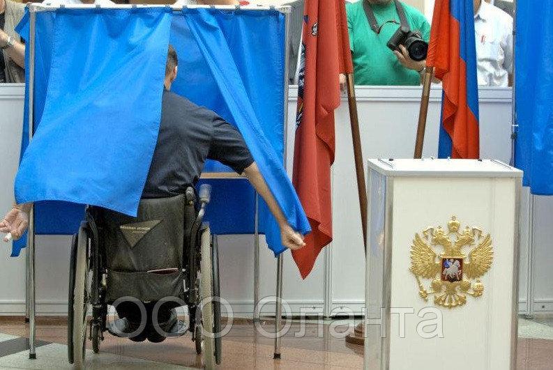 Кабина для голосования односекционная для инвалидов