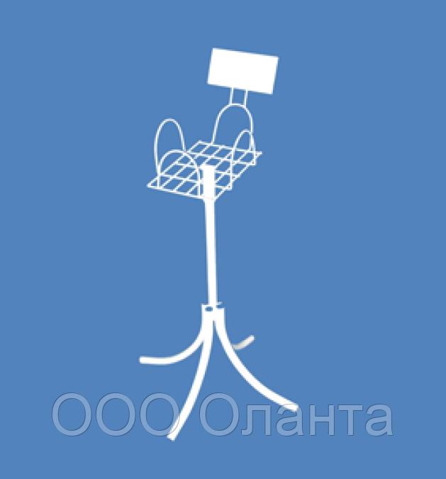 Стойка-лоток со стикером для прессы формат А5 арт. СЛ5