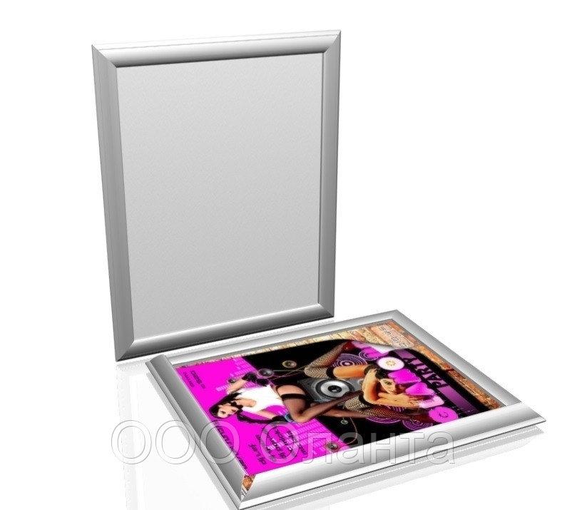 Клик-рама алюминиевая формат А4