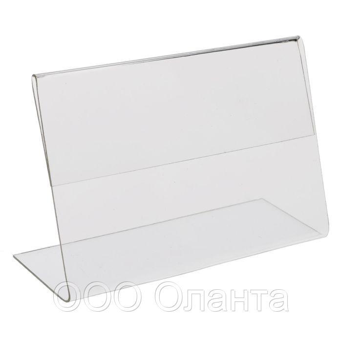Ценникодержатель пластиковый горизонтальный (90х70) P-PRICER арт.739070