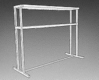 Стеллаж бонетный с подсветкой СУПЕРСТРУКТУРА (2200х800х1700 мм) арт. СБ