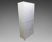 Шкаф архивный металлический двухсекционный (800х400х1850), фото 1