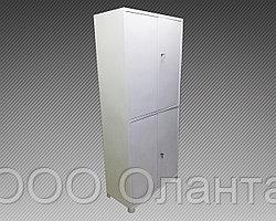 Шкаф архивный металлический двухсекционный (800х400х1850)