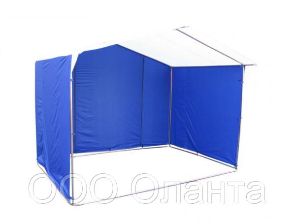 Палатка для уличной торговли разборная (2000х2000 мм) оцинкованный каркас