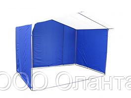 Палатка для уличной торговли разборная (3000х2000 мм) оцинкованный каркас