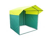 Палатка для уличной торговли ПВХ разборная (2000х2000 мм) квадратная труба