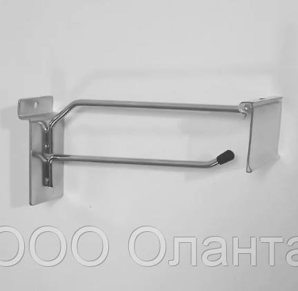 Крючок без ценникодержателя  (L-150 мм) арт.F341