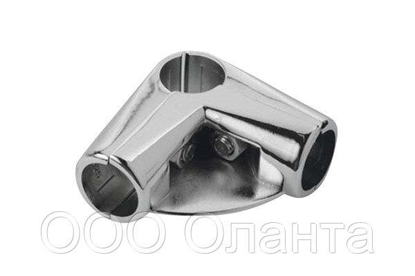 Соединитель 3-х труб угловой с площадкой арт. Uno-06