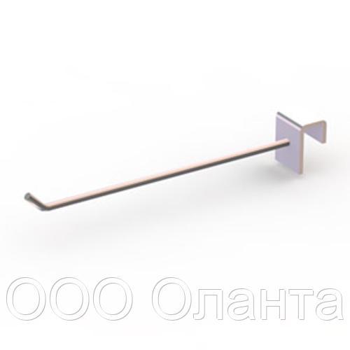 Крючок на планку (L-100 мм) Vertical хром арт. 444
