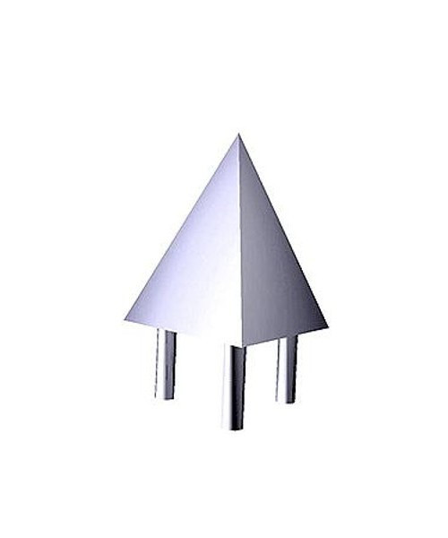 Наконечник декоративный тройной Tritix хром арт. TR-46