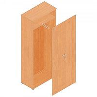 Шкаф гардеробный для офиса (798х418х1960) с выдвижной штангой, фото 1