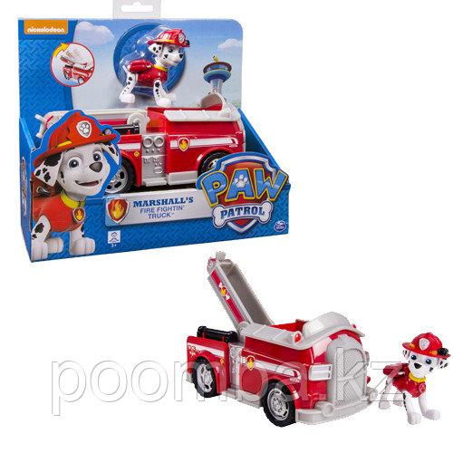 Пожарная машина спасателя и щенок Маршалл. Paw Patrol