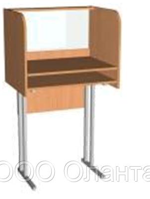 Стол лингафонный ученический для кабинета иностранного языка одноместный арт. Л-1