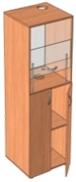 Шкаф демонстрационный вытяжной для кабинета химии (600х580х1700 мм) арт. ШВ-1