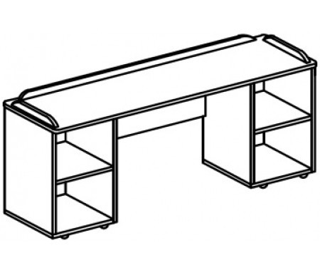 Игровой модуль для развивающей деятельности (1200х400х670 мм) арт. Р3