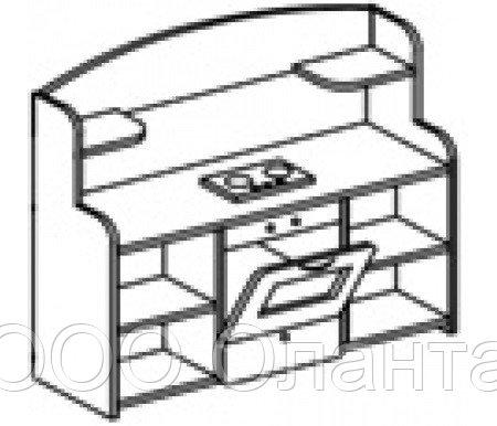 Игровой модуль КУХНЯ (1200х340х1000 мм) арт. К1