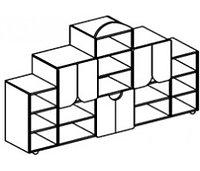 Стеллаж для игрушек БАБОЧКА (2196х400х1400 мм) арт. СТБ, фото 1