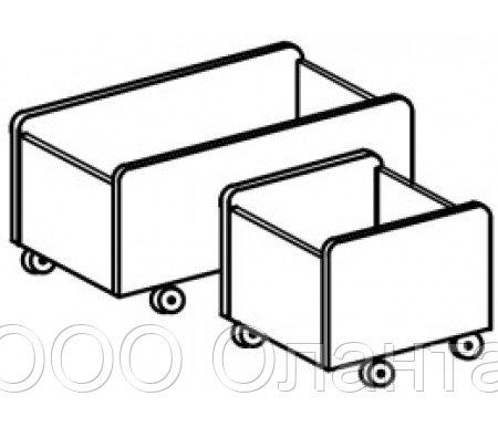 Ящик для игрушек мобильный (360х380х380)