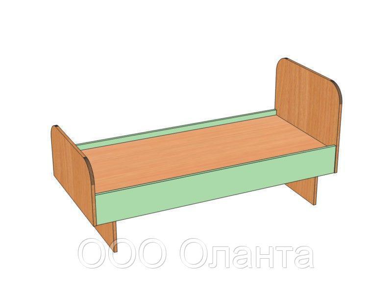 Кровать для детского сада (1200х640х510) арт. КР1