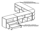 Комплект тумб для детского сада (2000х400/1200х620), фото 1