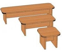 Скамья для детского сада (250х250х200) арт. СК3, фото 1