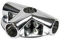 Соединитель 4-х труб угловой с площадками арт. Uno-09