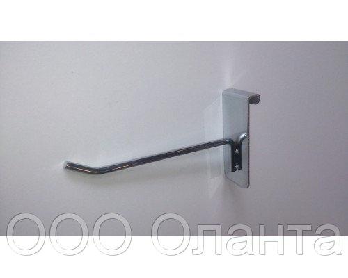 Крючок одинарный (L-200 мм) хром арт. GК004