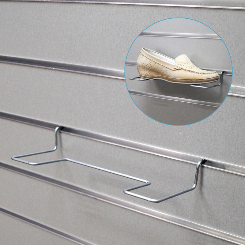 Полка для обуви (L- 250 мм) цинк арт.ЕК141