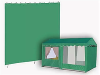 Стенка без окна (2500х2000 мм) для шатра 2.5х2.5 и 2.5х5.0, фото 1