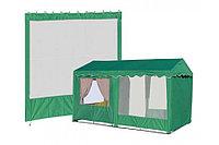 Стенка с окном (2500х2000 мм) для шатра 2.5х2.5 и 2.5х5.0