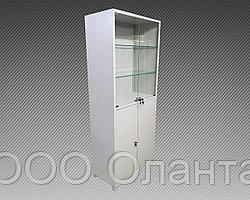 Шкаф архивный металлический двухсекционный комбинированный (800х400х1850)