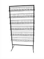 Стойка торговая универсальная 6 прямых полок арт. СУ2